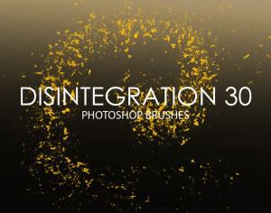 Free Disintegration Photoshop Brushes 30 Photoshop brush