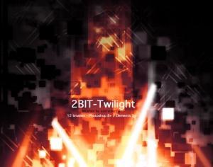 2Bit-Twilight Brushes Photoshop brush
