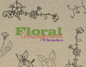 Floral Arrangement Photoshop brush