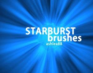 Starburst Brushes Photoshop brush