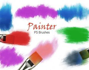 20 Painter PS Brushes abr.Vol.6 Photoshop brush