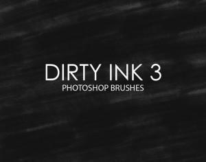 Free Dirty Ink Photoshop Brushes 3 Photoshop brush