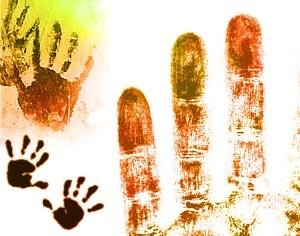 Handprint Brushes Photoshop brush