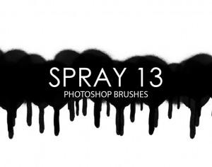 Free Spray Photoshop Brushes 13 Photoshop brush