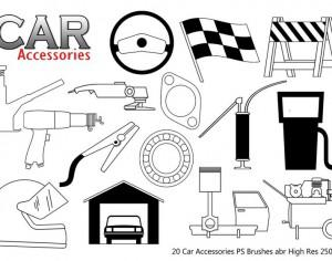 Car Accessories PS Brushes abr Photoshop brush