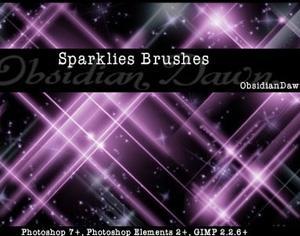 Sparklies Brushes Photoshop brush