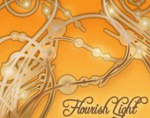 Flourish Light Photoshop brush
