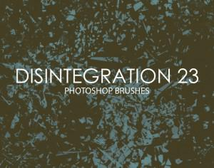 Free Disintegration Photoshop Brushes 23 Photoshop brush