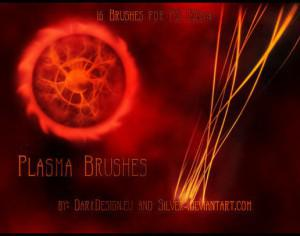 Plasma Brushes Photoshop brush