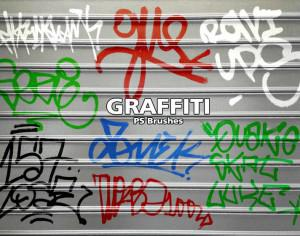 20 Graffiti PS Brushes abr. Vol.9 Photoshop brush