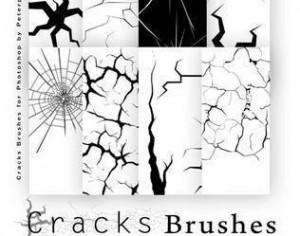 Cracks Brushes Pack  Photoshop brush