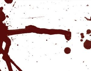 Blood Splatter Photoshop brush