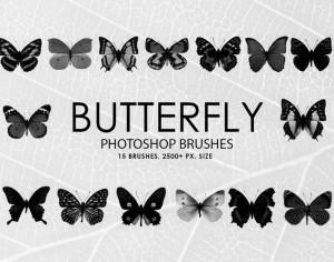 Free Butterfly Photoshop Brushes Photoshop brush