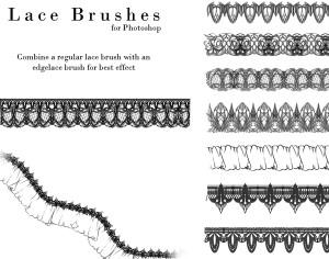 Lace Photoshop Brushes Photoshop brush