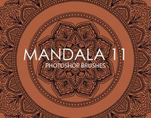 Free Mandala Photoshop Brushes 11 Photoshop brush