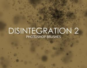Free Disintegration Photoshop Brushes 2 Photoshop brush