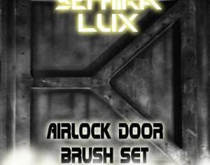 Airlock Door Brush Set (By Sephira Lux) Photoshop brush