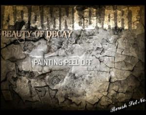Brush Set No1 - Painting Peel Off PRT 2 Photoshop brush