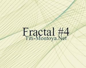 Fractal #4 Photoshop brush