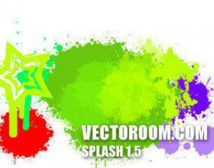 Splash 1.5 Photoshop brush