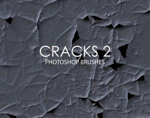 Free Abstract Cracks Photoshop Brushes 2 Photoshop brush