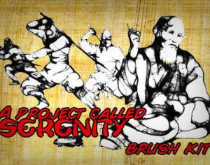 a project called serenity Photoshop brush
