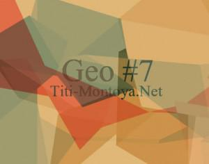 Geo 7 Photoshop brush
