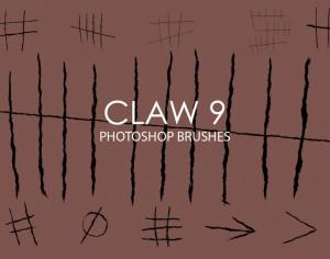 Free Claw Photoshop Brushes 9 Photoshop brush