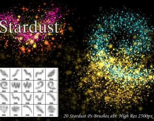 20 Stardust Ps Brushes abr. Photoshop brush