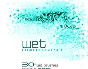 Fluid Brushes Photoshop brush