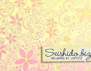 FREE Seishido.biz Bubbly Doodle Brushes Photoshop brush