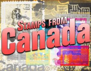 Stamps from Canada Photoshop Brushes Photoshop brush
