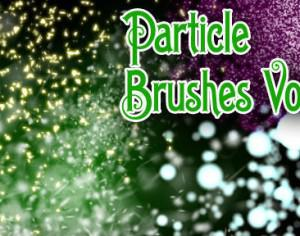 Hi-Res Particle Brushes Vol. 4 Photoshop brush