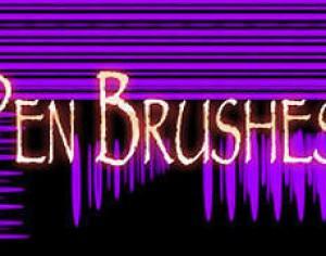 Pen Brushes Photoshop brush