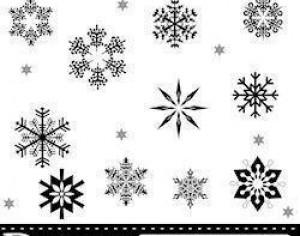Snow Flake Brushes Photoshop brush