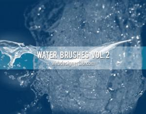 Water Brushes Vol. 2 Photoshop brush