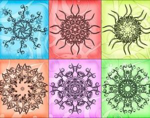 Swirly Orb Brushes Photoshop brush
