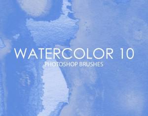 Free Watercolor Photoshop Brushes 10 Photoshop brush