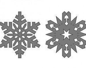 Free Snowflakes Brushes Photoshop brush