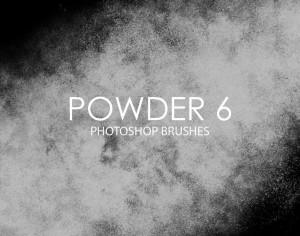 Free Powder Photoshop Brushes 6 Photoshop brush