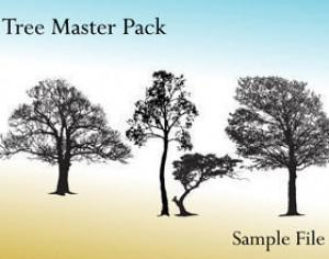 Tree Master Pack Photoshop brush