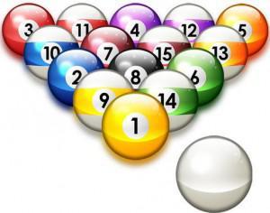 Billiards  balls brushes Photoshop brush