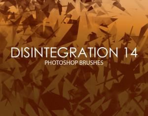 Free Disintegration Photoshop Brushes 14 Photoshop brush