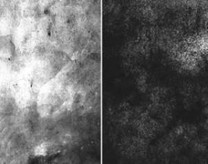Free Black and White Texture Brushes Photoshop brush