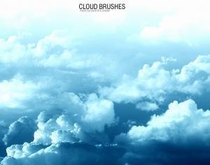 Cloud Brushes Photoshop brush