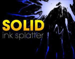 Solid Ink Splatters Photoshop brush