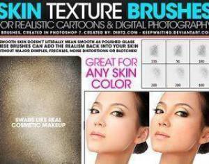 Skin Textures v1 Photoshop brush