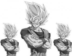 Goku Ssj Photoshop brush