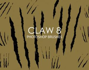 Free Claw Photoshop Brushes 8 Photoshop brush