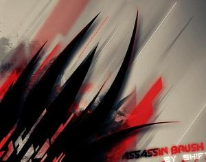 Assassin Photoshop Brush Set Photoshop brush